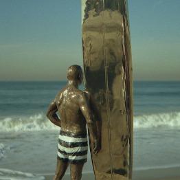 Greg Noll Bronze Sculpture by Phil Roberts