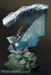 Pipeline Masters Trophy - Phil Roberts bronze sculpture pipe mastersSculpture