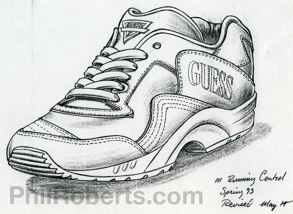 Shoe Design by Phil Roberts