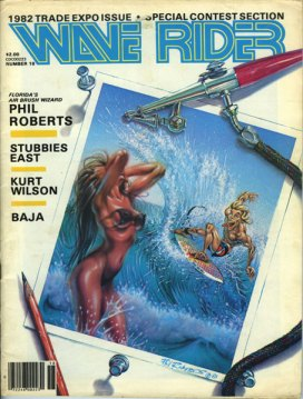 Wave Rider Cover Art Phil Roberts