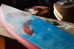 2010 Pipeline Masters Surf Board Trophy
