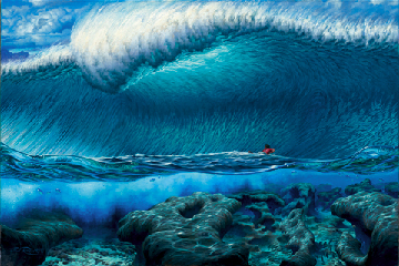 07 Pipeline Masters Poster by Phil Roberts