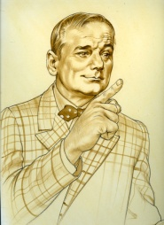Bill Murray Original Movie Art Painting - Phil Roberts