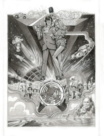 Austin Powers Black & White Comp By Phil Roberts