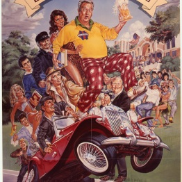 Back to School Movie Poster by Phil Roberts