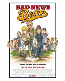 Bad News Bears Movie Poster by Phil Roberts