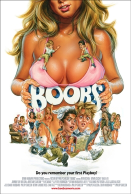 Boobs Movie Poster by Phil Roberts