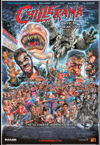 Chillerama Horror Movie Series posters by Phil Roberts