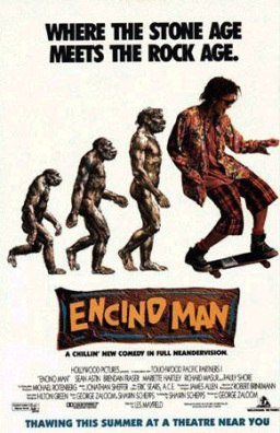 Encino Man Movie Poster by Phil Roberts