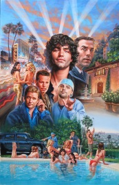 Entourage Movie Poster by Phil Roberts