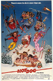 Hot Dog The Ski Movie Poster by Phil Roberts