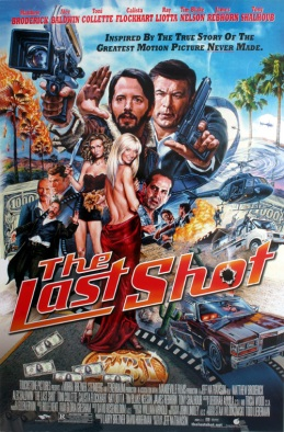 Last Shot Movie Poster by Phil Roberts