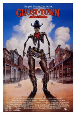 Ghost Town Movie Poster by Phil Roberts