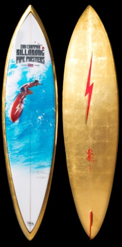 2010 Pipeline Masters Trophy Board by Phil Roberts