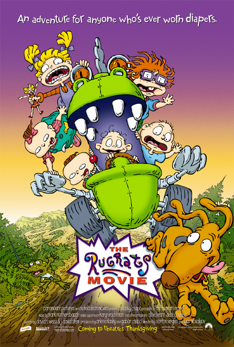 The RUGRATS Movie Poster by Phil Roberts | Phil Roberts Art