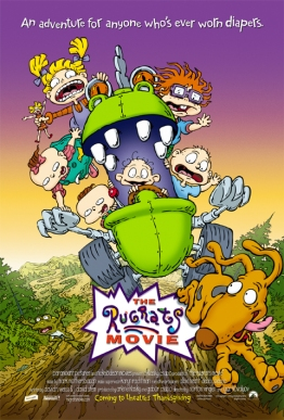Rugrats Movie Poster by Phil Roberts