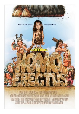 Homo Erectus Movie Poster by Phil Roberts