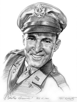 LeRoy Grannis Pencil Sketch by Phil Roberts