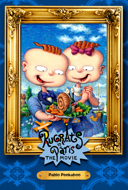 Rugrats In Paris Movie Art Collection Phil Roberts