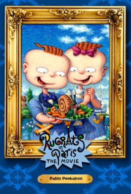 Phil & Lil - Rugrats in Paris movie campaign by Phil Roberts