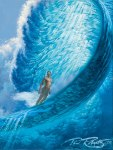 Pipeline pipe masters painting by Phil Roberts