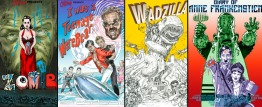 Chillerama Posters - Wadzilla, ZomB Movie, Anne Frankenstien & I was a Teenage wearbear