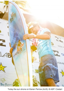 Kieren Perrow Crowned Pipe Masters Champion 2011