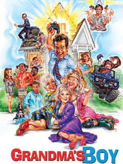 grandmas boy movie poster illustration phil roberts