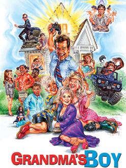 grandmas boy movie poster illustration phil roberts