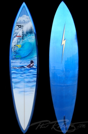 2012 Billabong Pipe Masters Trophy Board by Phil Roberts