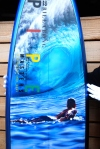 2012 pipemasters surfboard trophy billabong AI pipe - Phil Roberts