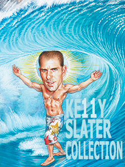 kelly slater collection surf art phil roberts