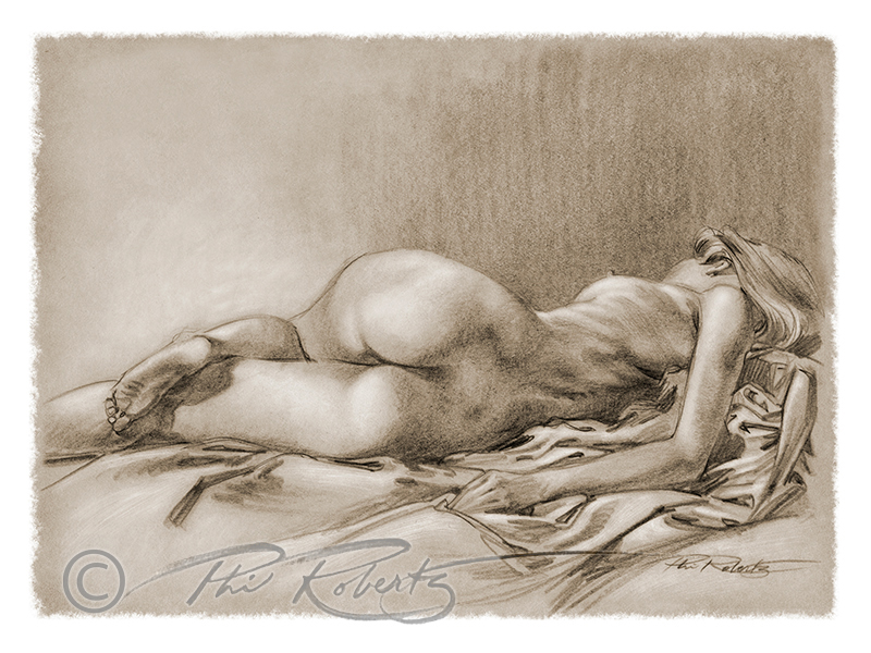 Sharon-back-figure-drawing-phil-roberts | Phil Roberts Art