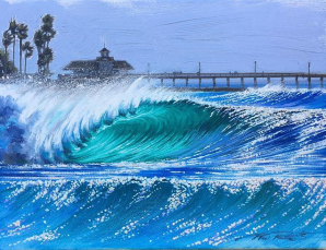 """Newport Sparkles"" 16x20 Canvas Print $275 >> BUY NOW"